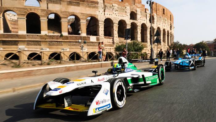 ABB FIA Formula E Championship in Rome