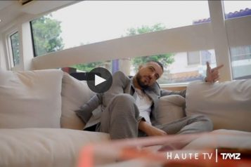 Behind the Scenes with Haute Living and French Montana