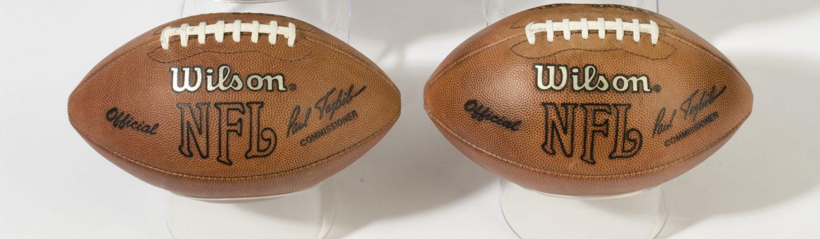 Dan Marino footballs