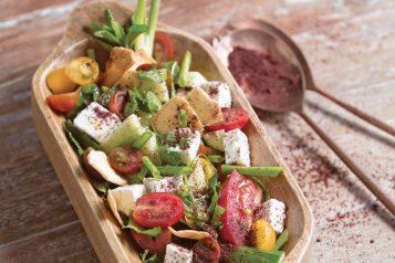 My Spiced Kitchen fatoush salad