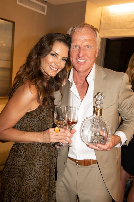 Kirsten and Greg Norman
