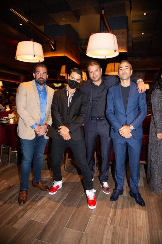 Seth Semilof, Alec Monopoly, Kamal Hotchandani and Jean-François Sberro