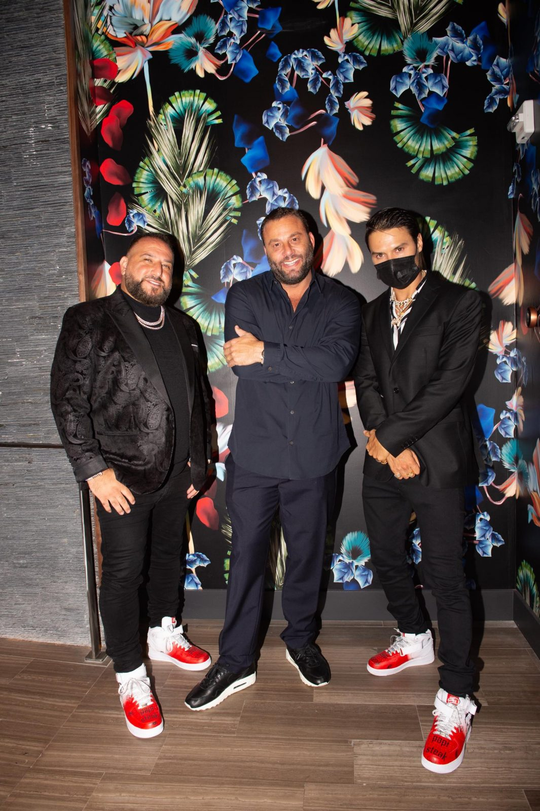 "David ""Papi"" Einhorn, David Grutman and Alec Monopoly"
