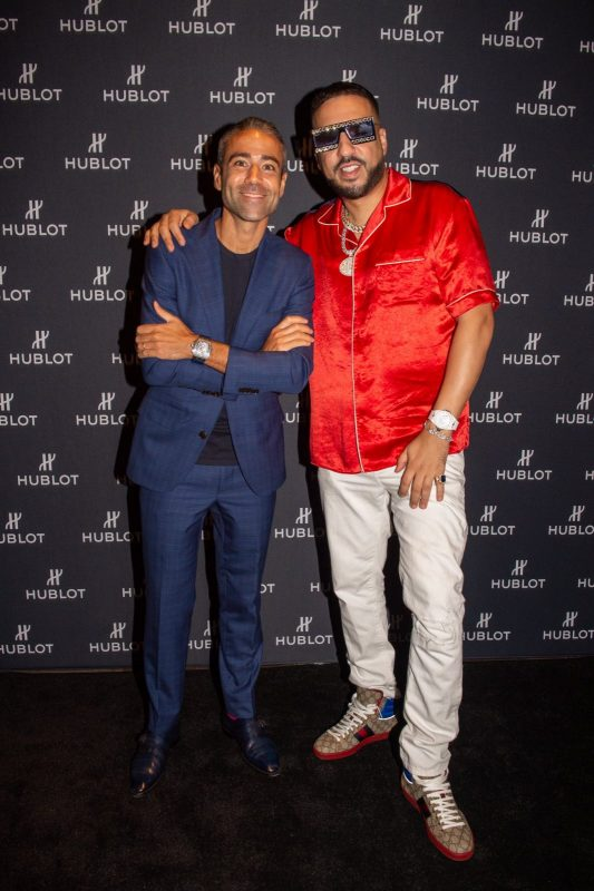 Jean-François Sberro and French Montana