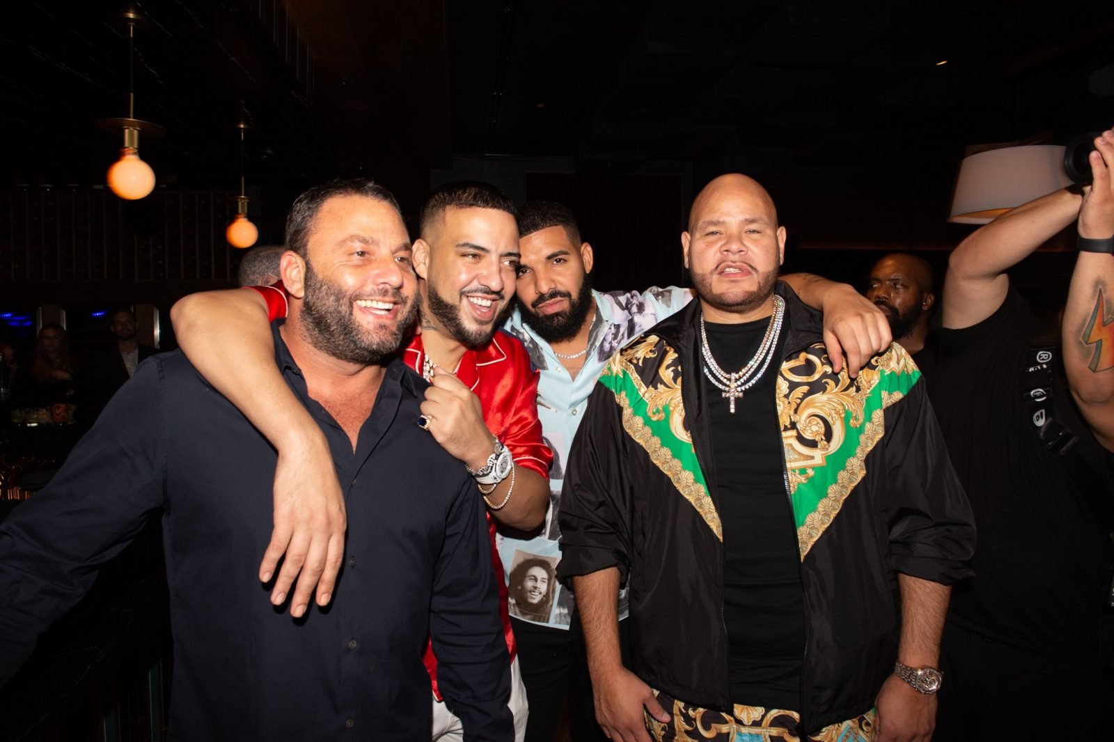 David Grutman, French Montana, Drake and Fat Joe