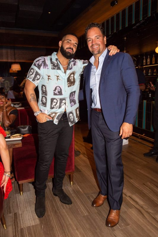 Drake and Mike Piazza