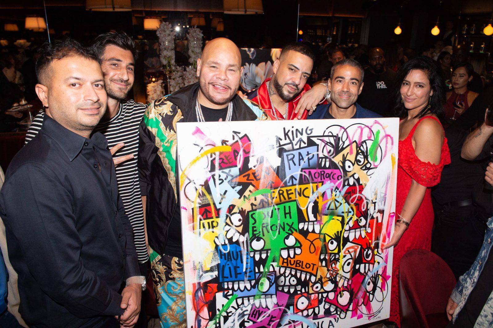 Kamal Hotchandani, Flore, Fat Joe, French Montana, Jean-François Sberro and Violet Camacho
