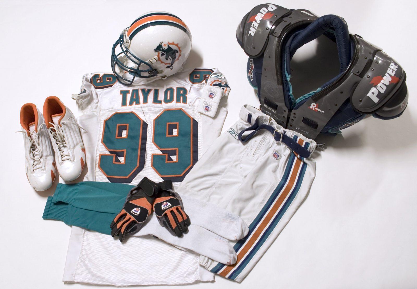 Jason Taylor Memorabilia