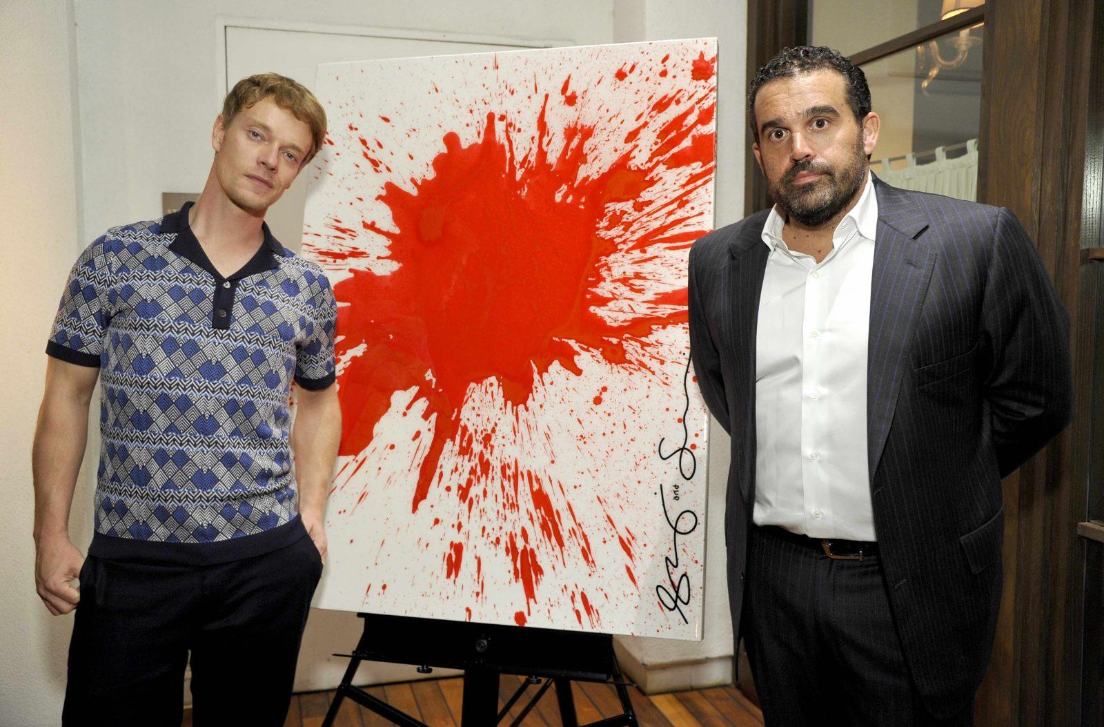 Alfie Allen and Seth Semilof