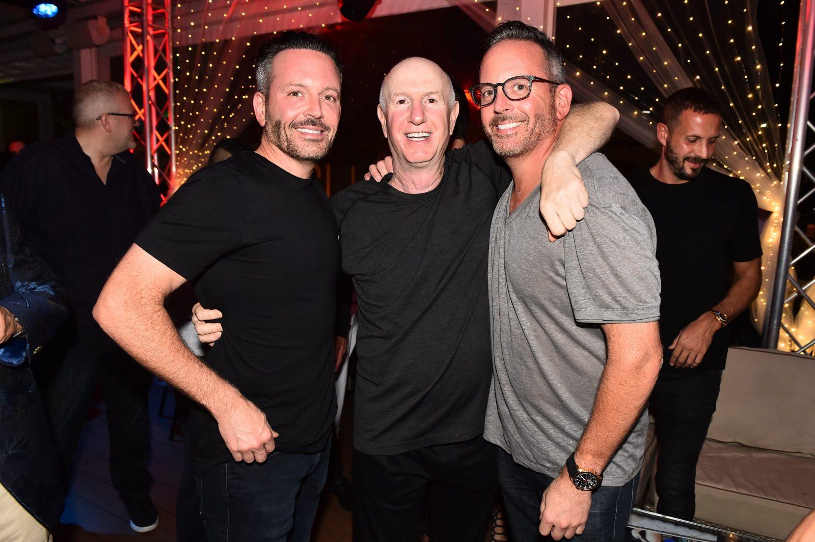 Brent Saunders, Marc Roberts, Wayne Saunders