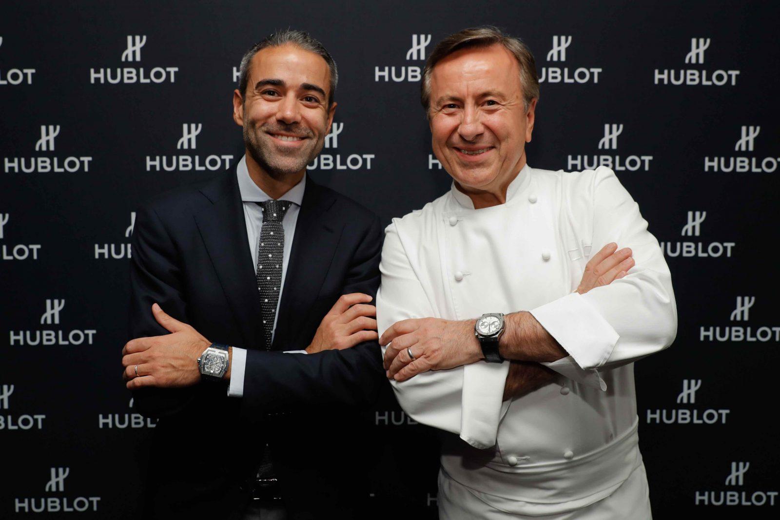 Jean-François Sberro and Chef Daniel Boulud