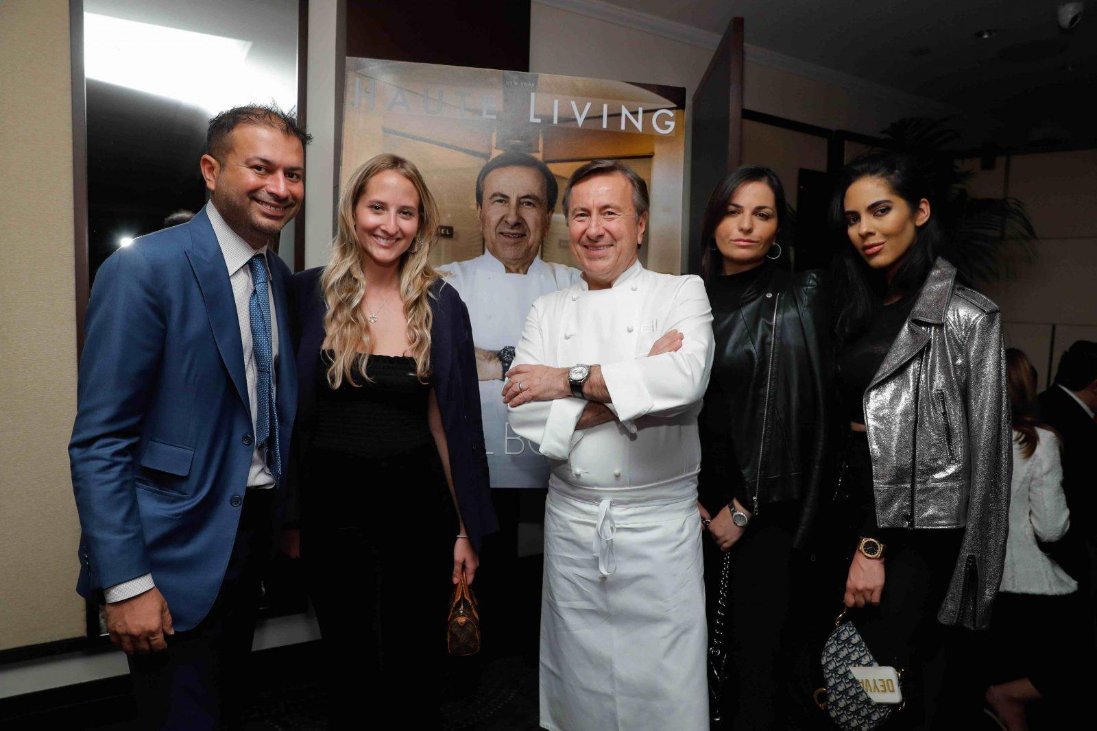 Kamal Hotchandani, Paige Mastrandrea, Chef Daniel Boulud, Lauren Mosseri and Deyvanshi Masrani