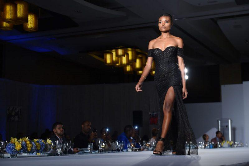 Gustavo Cadile Runway Black Gown