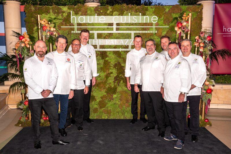 Master Chefs of France gather during Haute Cuisine 2018 at The Venetian Resort Las Vegas
