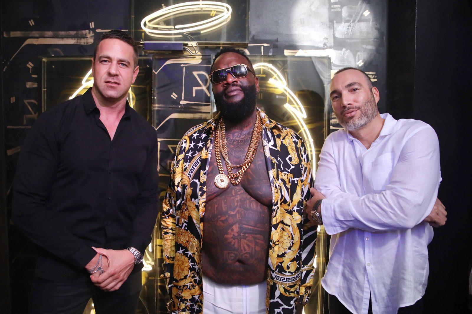 Rick Ross + Mio Danilovic + Keith Paciello at Rockwell