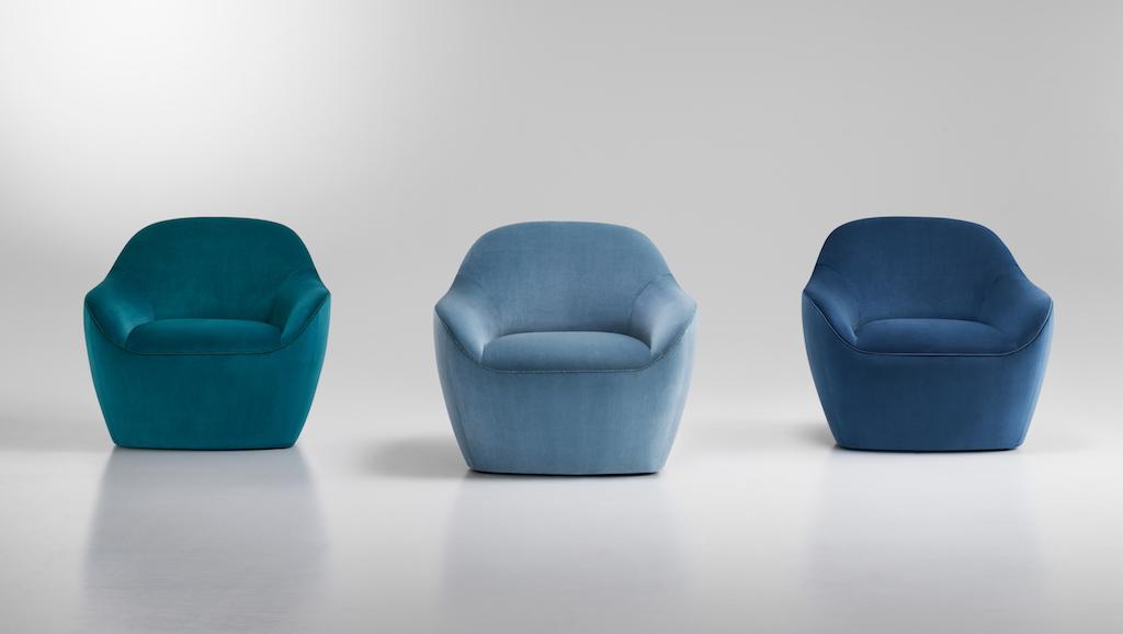 Bernhardt Design Becca collection Terry Crews