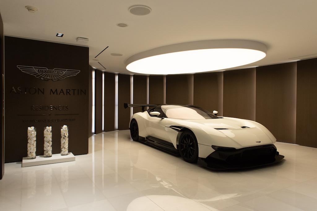 Aston Martin Residences Entrance