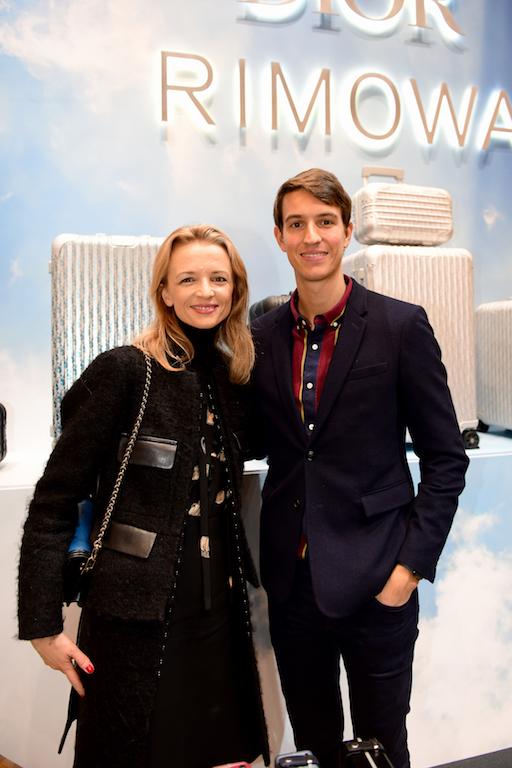 Delphine Arnault and Alexandre Arnault