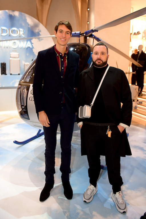 Alexandre Arnault and Kim Jones