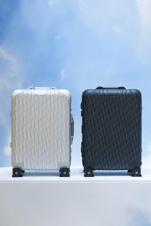 Dior x RIMOWA suitcases