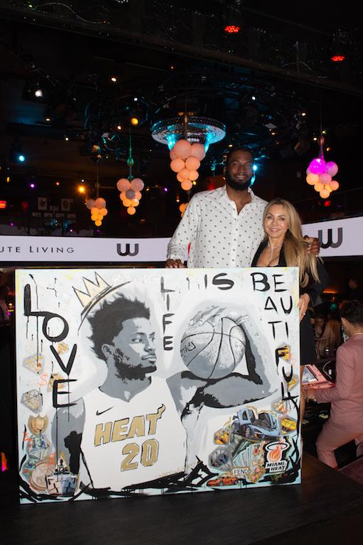 Justise Winslow and Mari H.