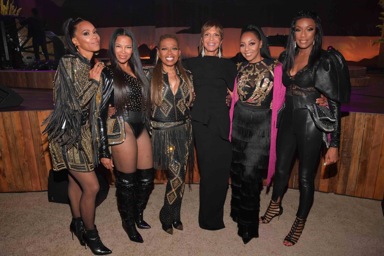 En Vogue and Sylvia Rhone