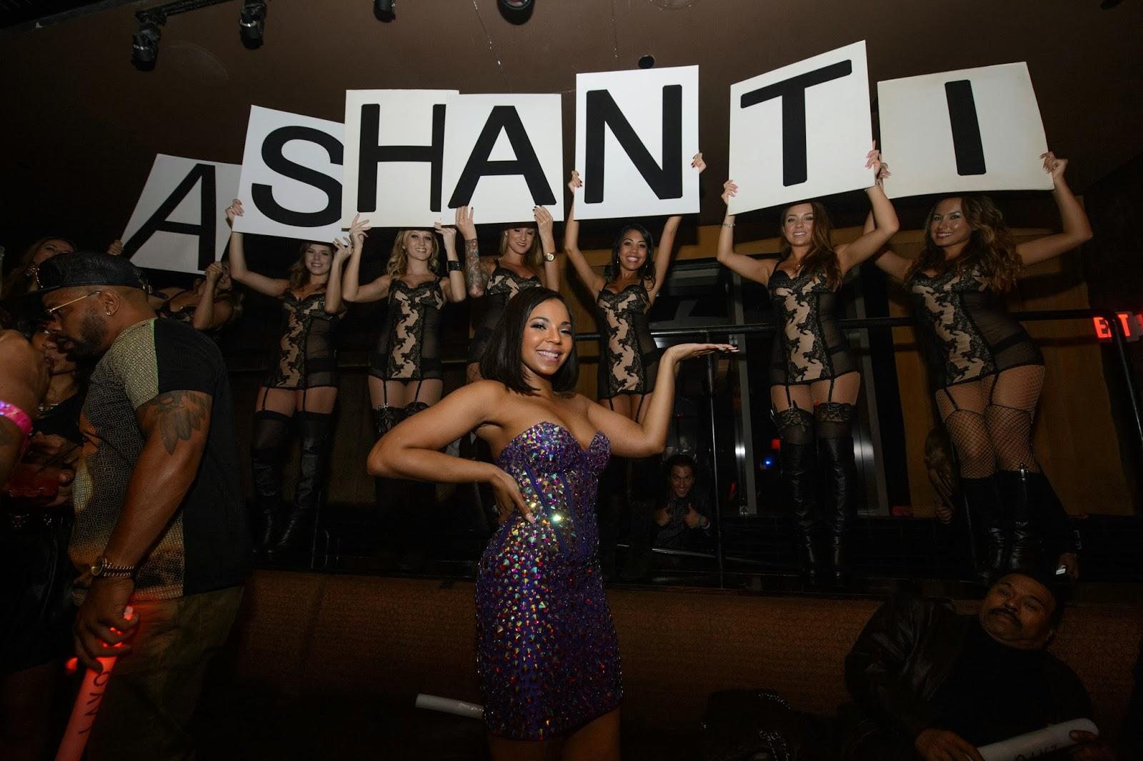 Ashanti at LAVO Las Vegas