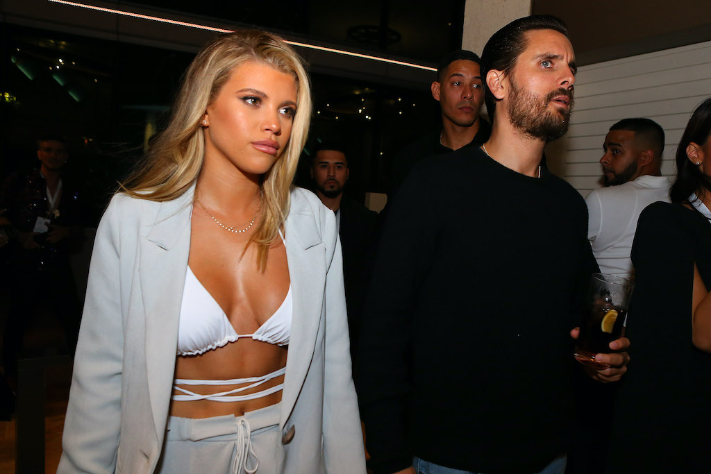 Scott Disick & Sofia Richie at Guitar Hotel
