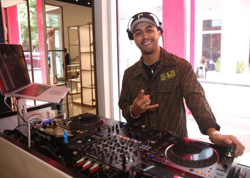 DJ Crespo at FENDI