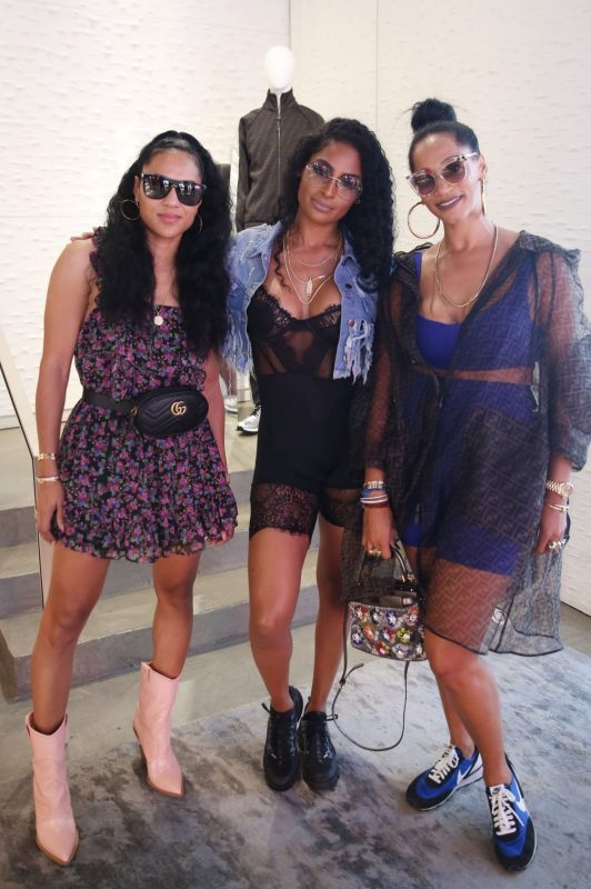 Faith Haslem, Ashley Wheeler & Alexis Stoudemire