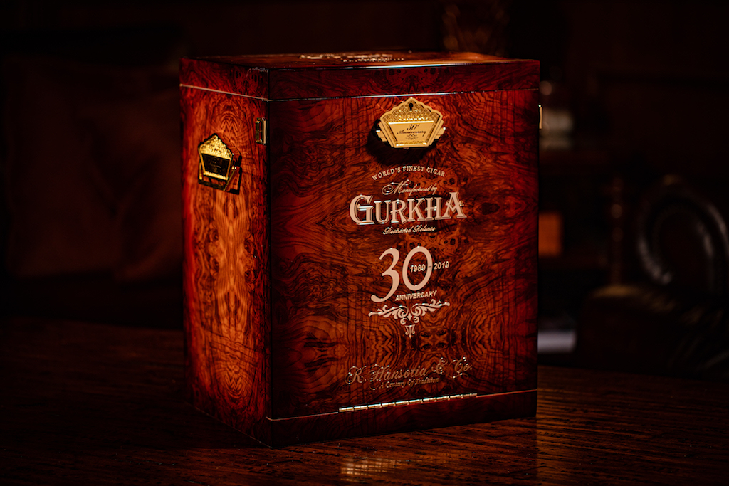 Gurkha - 30 year anniversary box