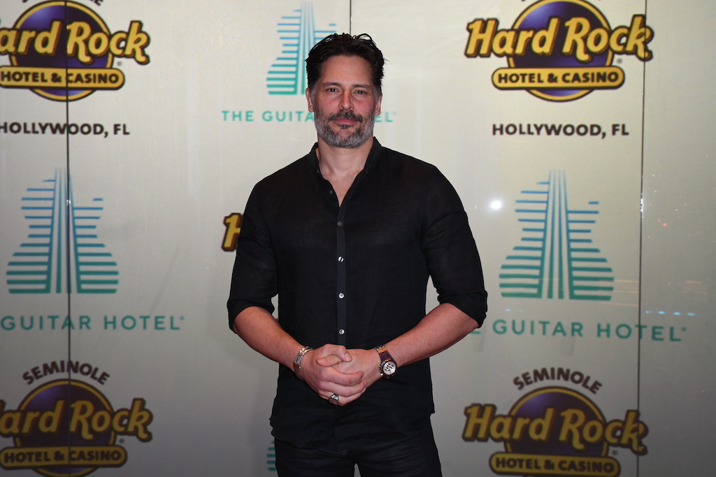 Joe Manganiello at Guitar Hotel