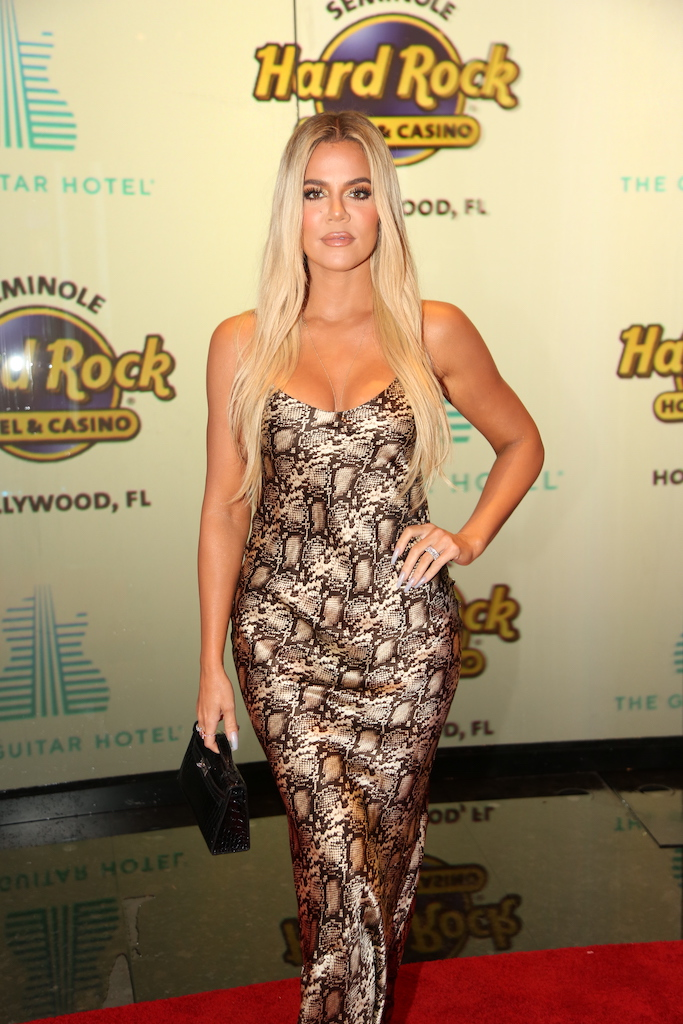 Khloe Kardashian at Guitar Hotel