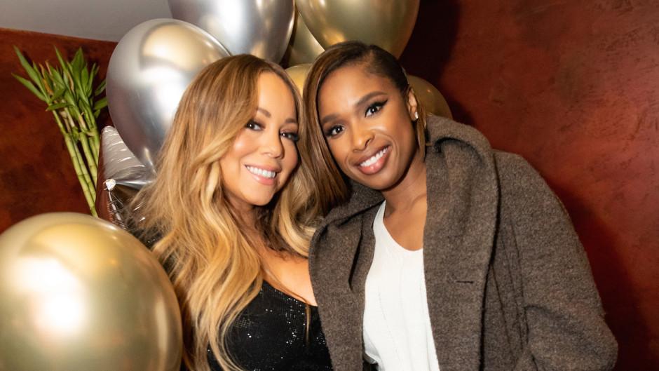 Mariah Carey and Jennifer Hudson at TAO Las Vegas
