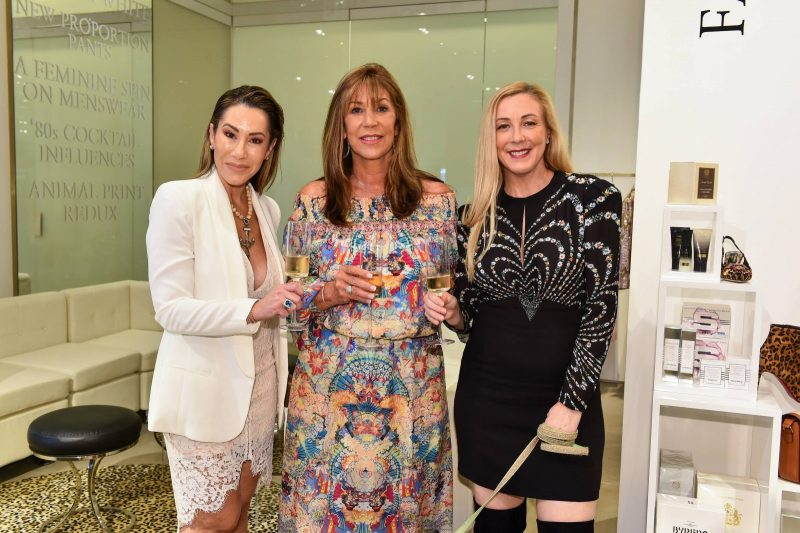 Mariann Marinberg, Lauree Simmons and Angela Birdman