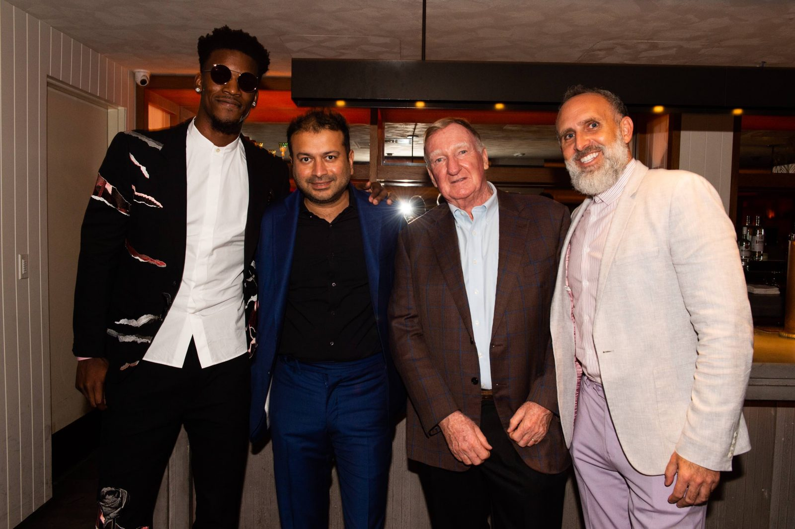 Jimmy Butler, Kamal Hotchandani, John Lee and Steve Stowe