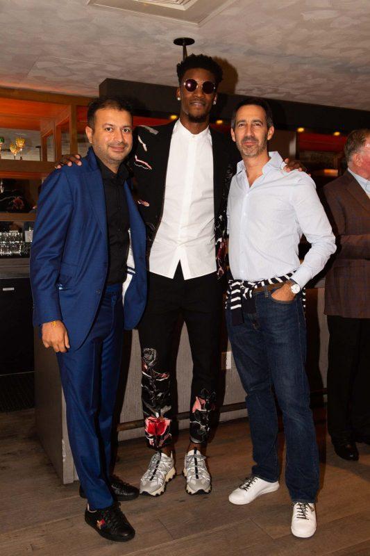 Kamal Hotchandani, Jimmy Butler and Francois-Xavier Hotier