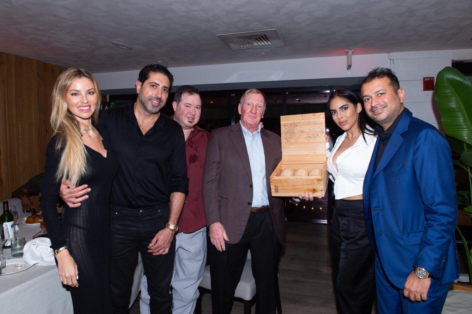 Marianne Dietrich, Tommy Kato, Greg Mirmelli, John Lee, Deyvanshi Masrani and Kamal Hotchandani