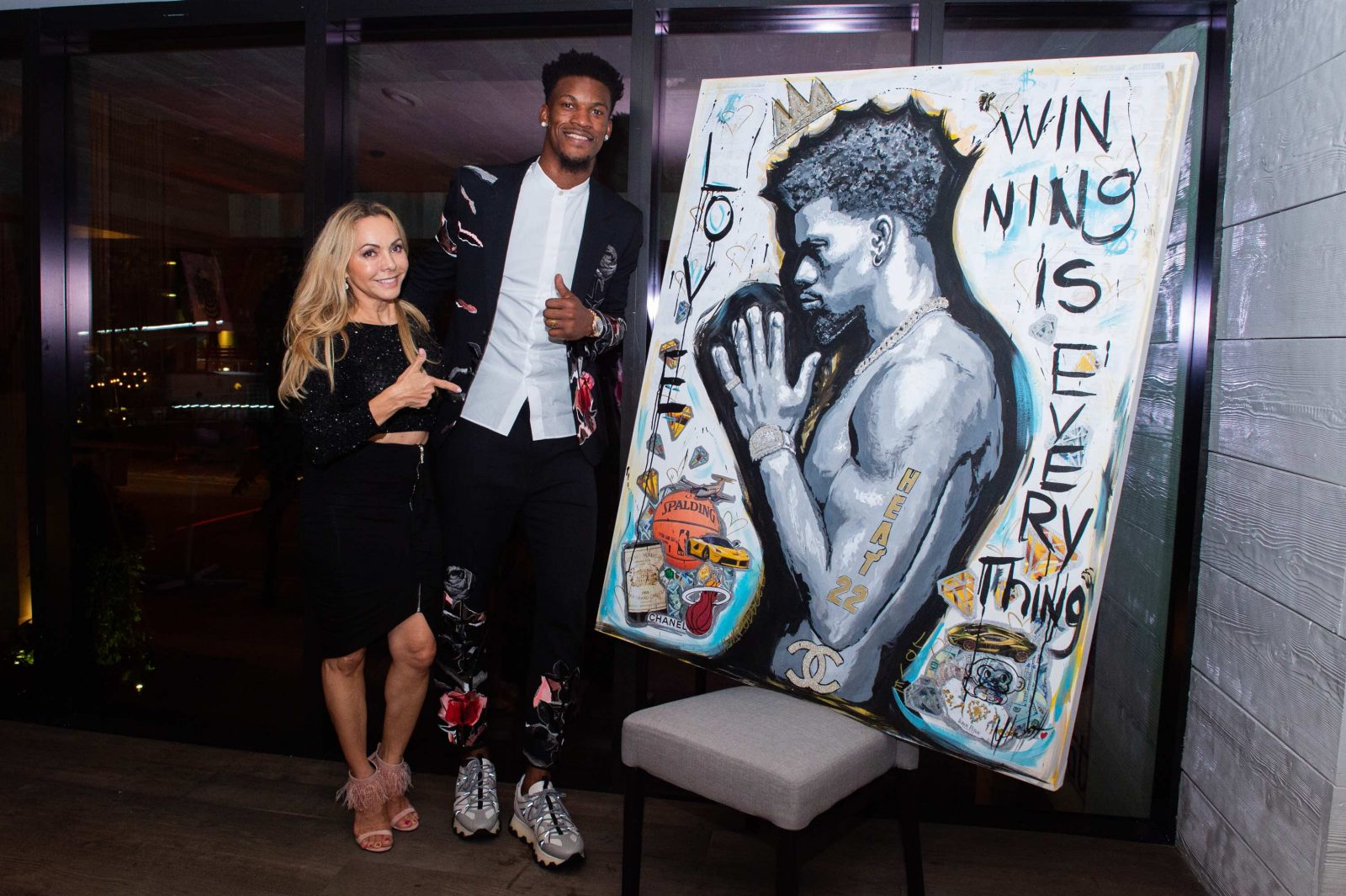 Mari Crowley and Jimmy Butler