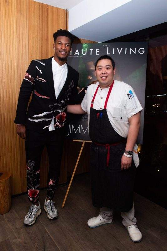 Jimmy Butler and Chef Thanawat
