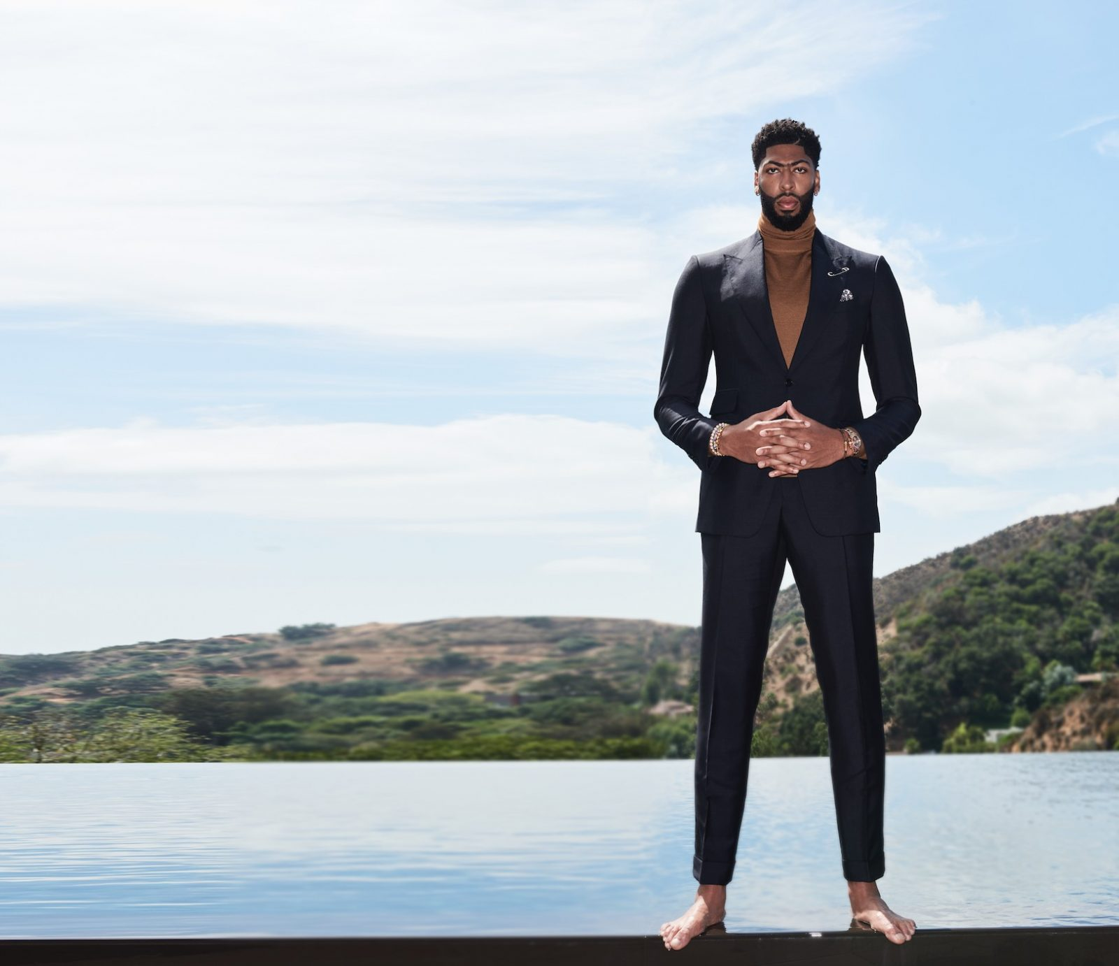 Anthony Davis Haute Living Los Angeles Cover Story
