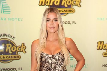 Khloe Kardashian at Hard Rock Hotel