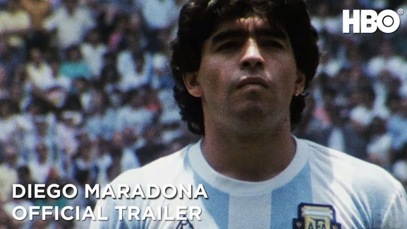 Scene From Maradona Documentary