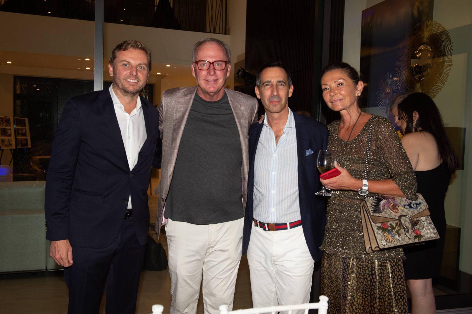 Martin Fritsches, Frank Biderman, Francois-Xavier Hotier and Francoise Bezzola