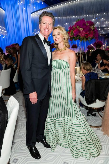 Gavin Newsom and Jennifer Siebel Newsom