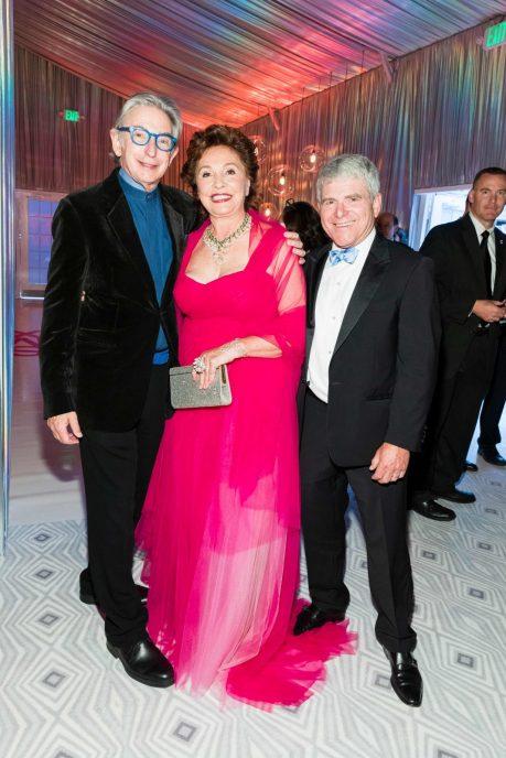 Michael Tilson Thomas, Maria Manetti Shrem, and Joshua Robison