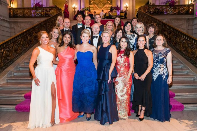 Members of the Symphony Supper Host Committee gather at the San Francisco Symphony's 2019 Opening Night Gala.