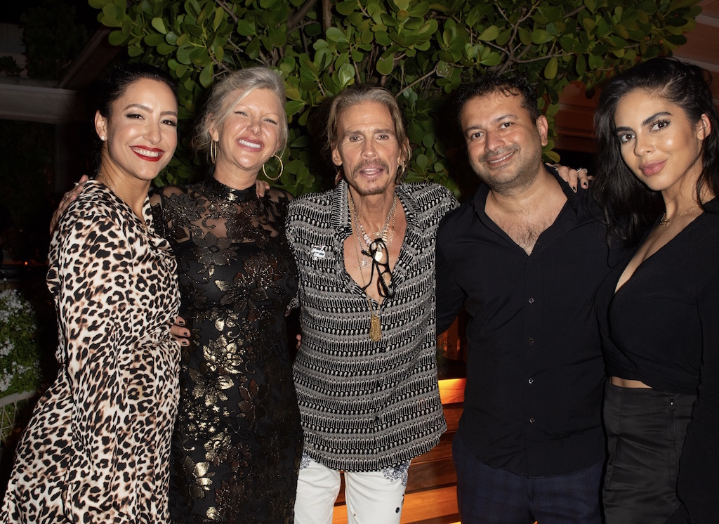 Violet Camacho, April Donelson, Steven Tyler, Kamal Hotchandani, Deyvanshi Masrani
