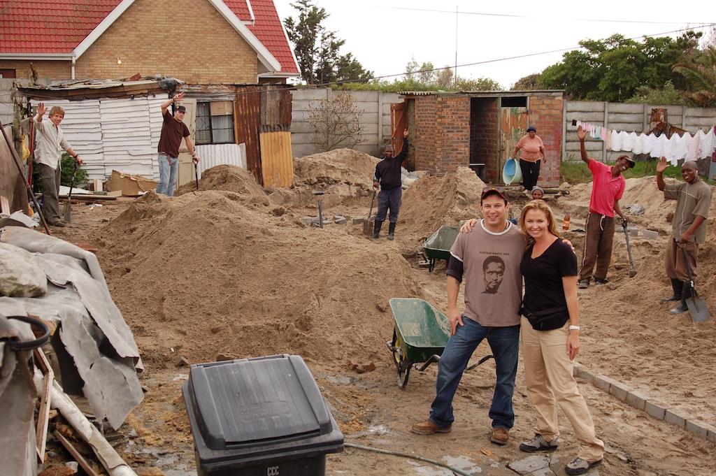 Mark Johnson & Whitney Kroenke in Ntonga South Africa