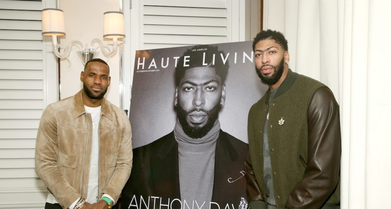 LeBron James x Anthony Davis x Mr. C